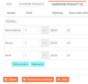 Promal Polska - aplikacja